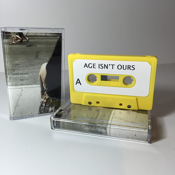 Young Statues - Age Isn't Ours Cassette Tape
