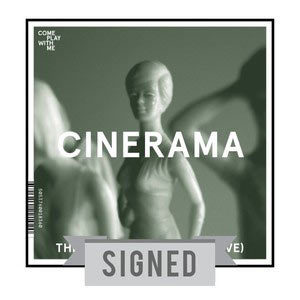 Signed 12x12 Screen Print (Cinerama Sleeve)