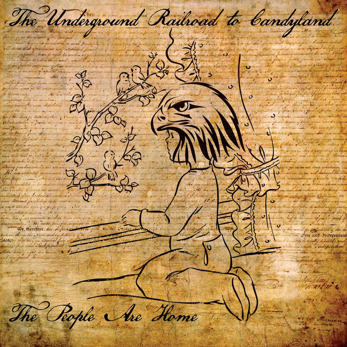 The Underground Railroad to Candyland - The People Are Home LP / Tape