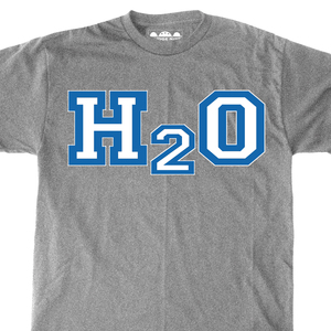 H2O 'Passion Before Fashion Blue Ink' T-Shirt