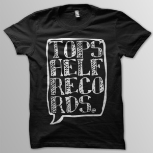 Topshelf Records - Logo Shirt (Black)