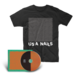 USA Nails CD + Static Tshirt Bundle