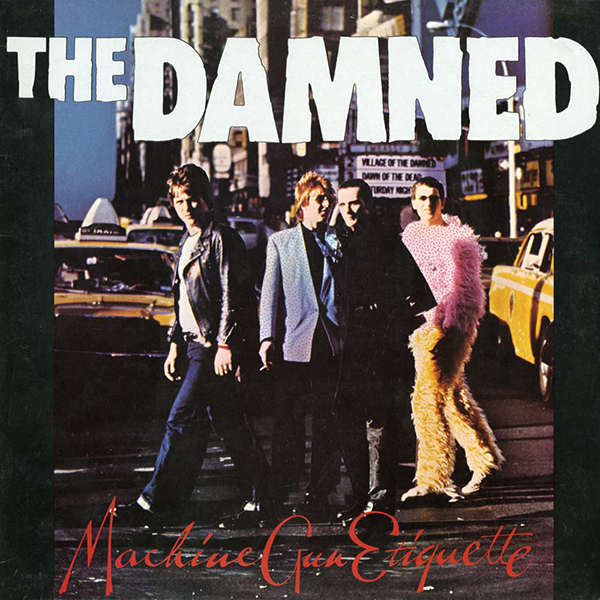 The Damned - Machine Gun Etiquette LP