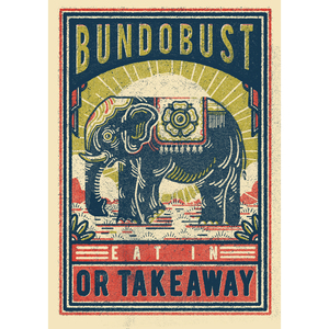 Bundobust Elephant - Print
