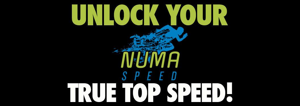NUMA Speed Merchandise