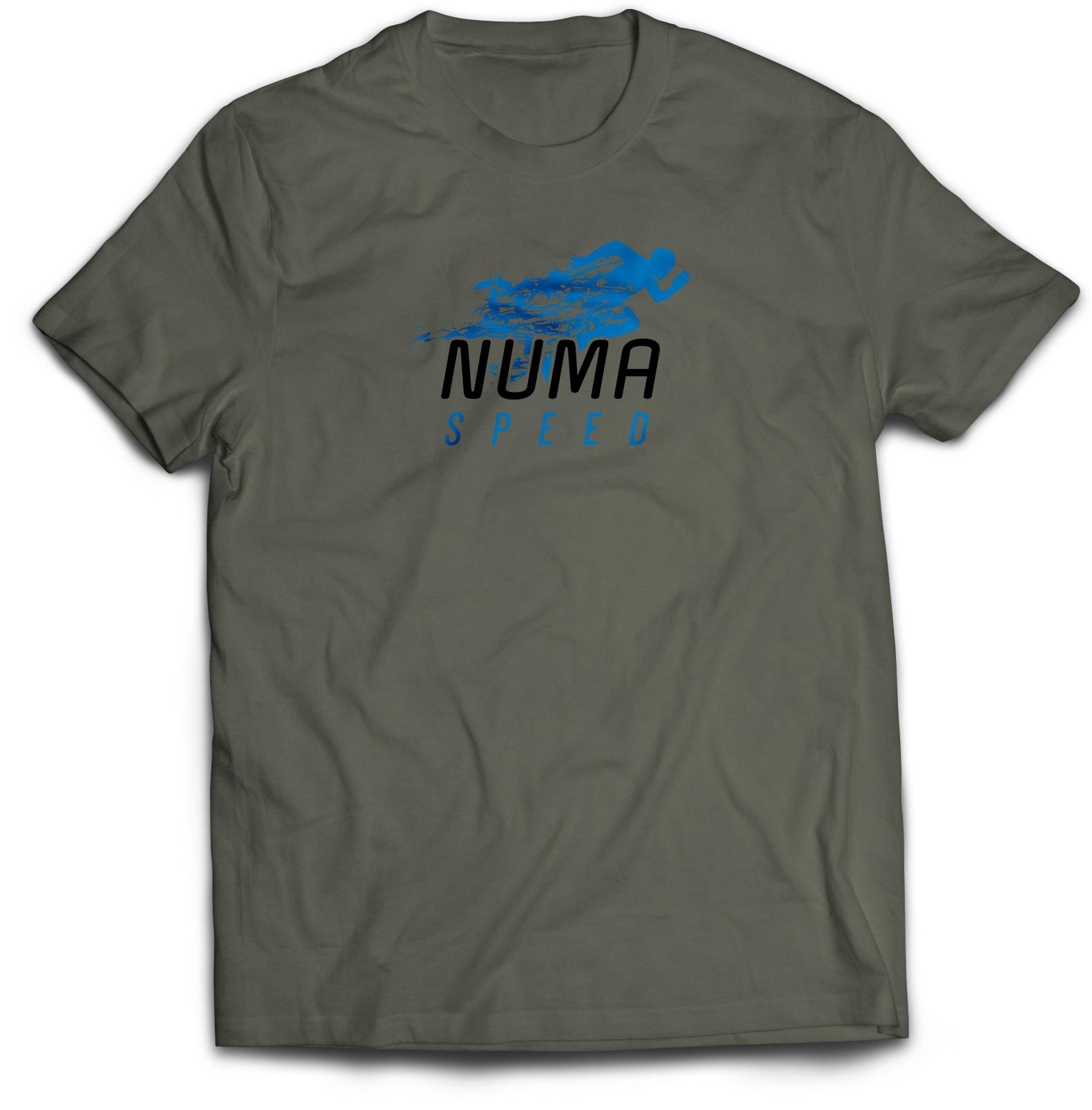 Numa Grey Perfomance Shirt