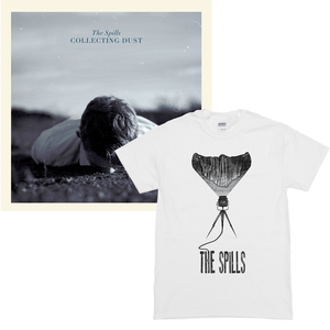 The Spills - Collecting Dust CD/LP & T-Shirt Bundles