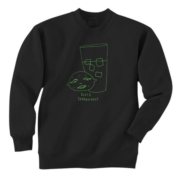 Elvis Depressedly - Baby Lemonade Crewneck Sweatshirt