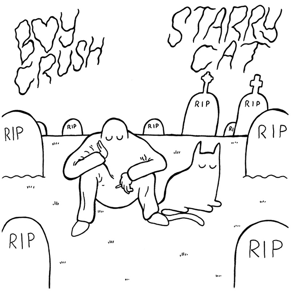 Boy Crush / Starry Cat - Split 7