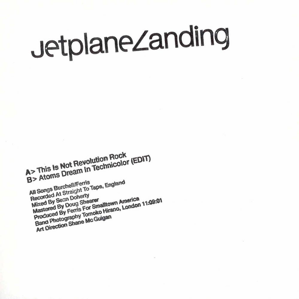 Jetplane Landing - This Is Not Revolution Rock