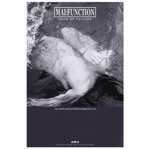Malfunction 'Fear Of Failure' Poster