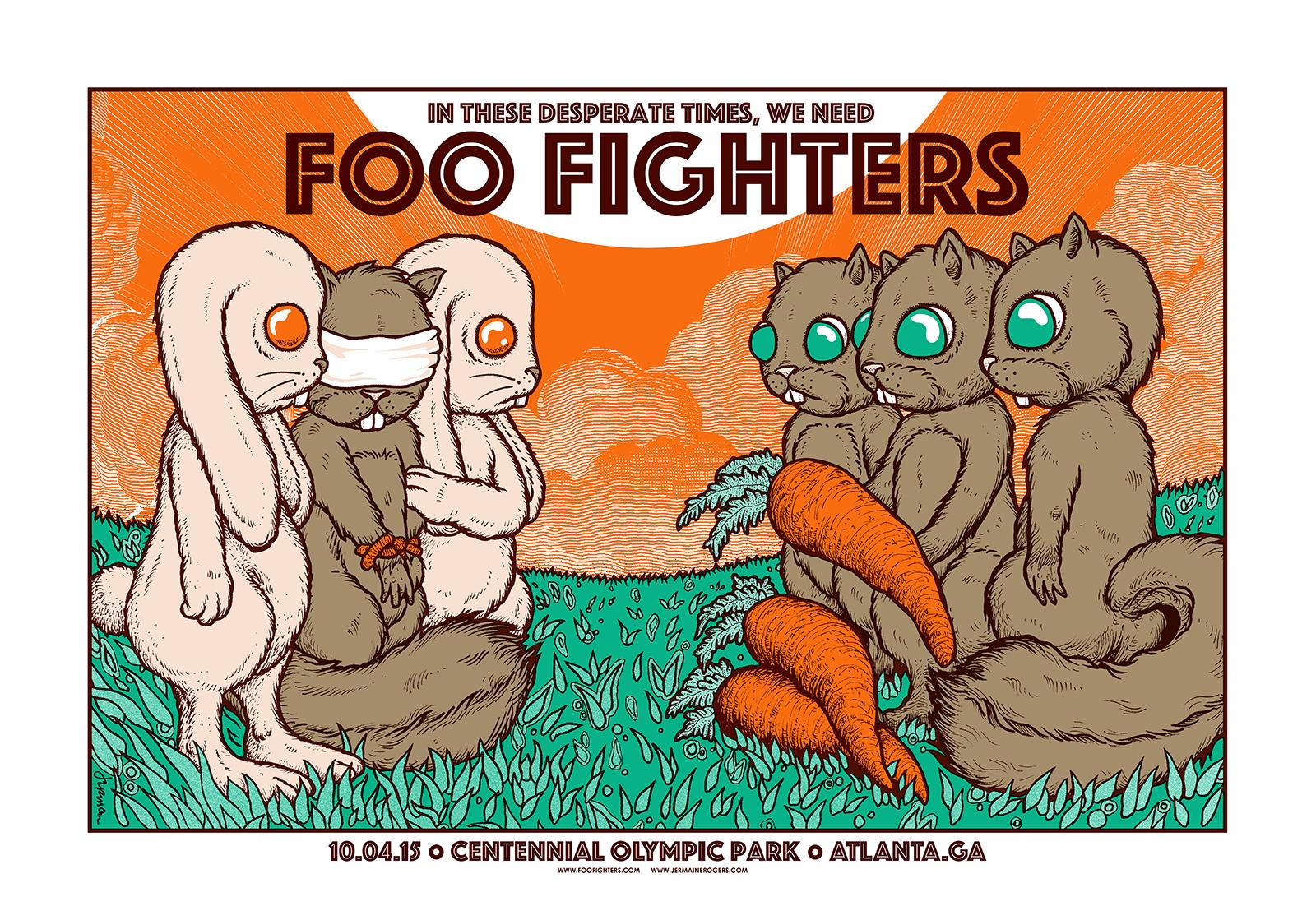 FOO FIGHTERS (Atlanta) (ALL VARIANTS)