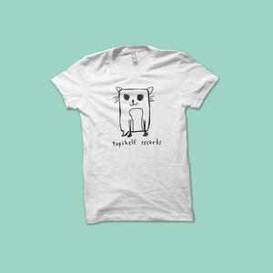 Topshelf Records - Logo Cat Shirt