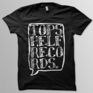 Topshelf Records - Black Logo Shirt