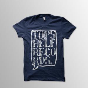 Topshelf Records - Navy Logo Shirt