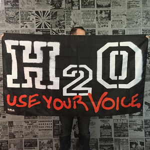 H2O 'Use Your Voice' Banner