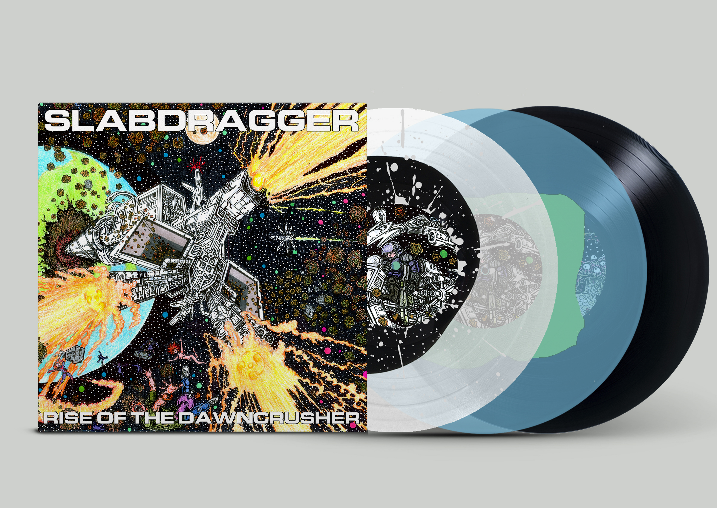Slabdragger - Rise Of The Dawncrusher
