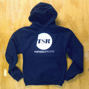 Topshelf Records - Alternate logo pullover hoodie (Navy)