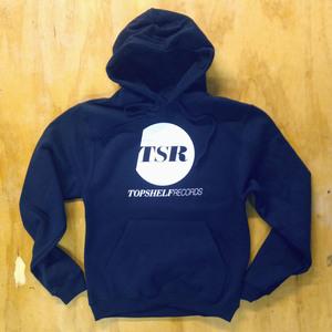 Topshelf Records - Alternate logo pullover hoodie (Navy)