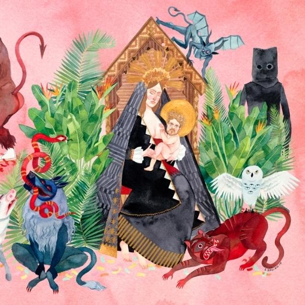 Father John Misty - I Love You, Honeybear Cassette Tape
