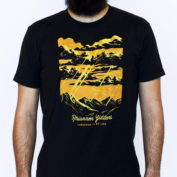 Rhiannon Giddens Charcoal Unisex Skyfall T Shirt