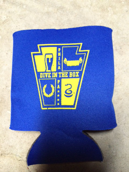 Dive in the Box Koozie
