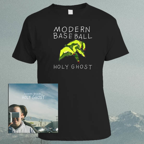 Modern Baseball - Holy Ghost LP / CD / Tape and Shirt Bundle