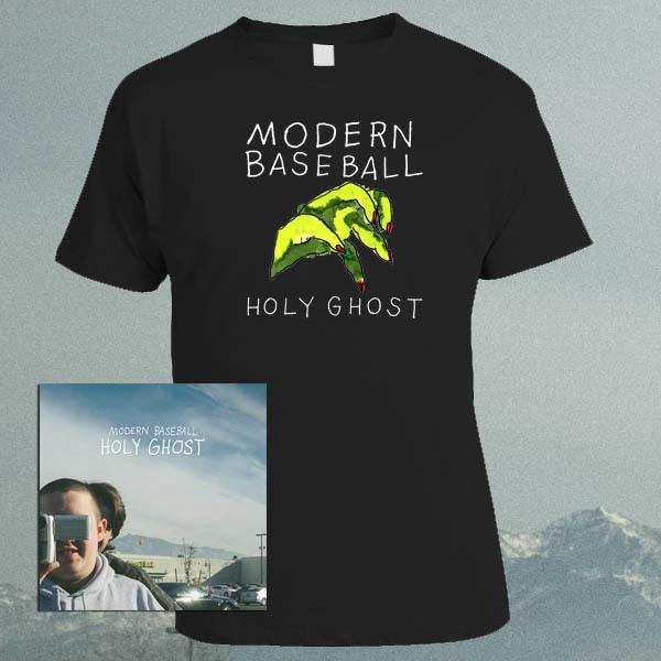 Modern Baseball - Holy Ghost LP / CD / Tape and Shirt Bundle