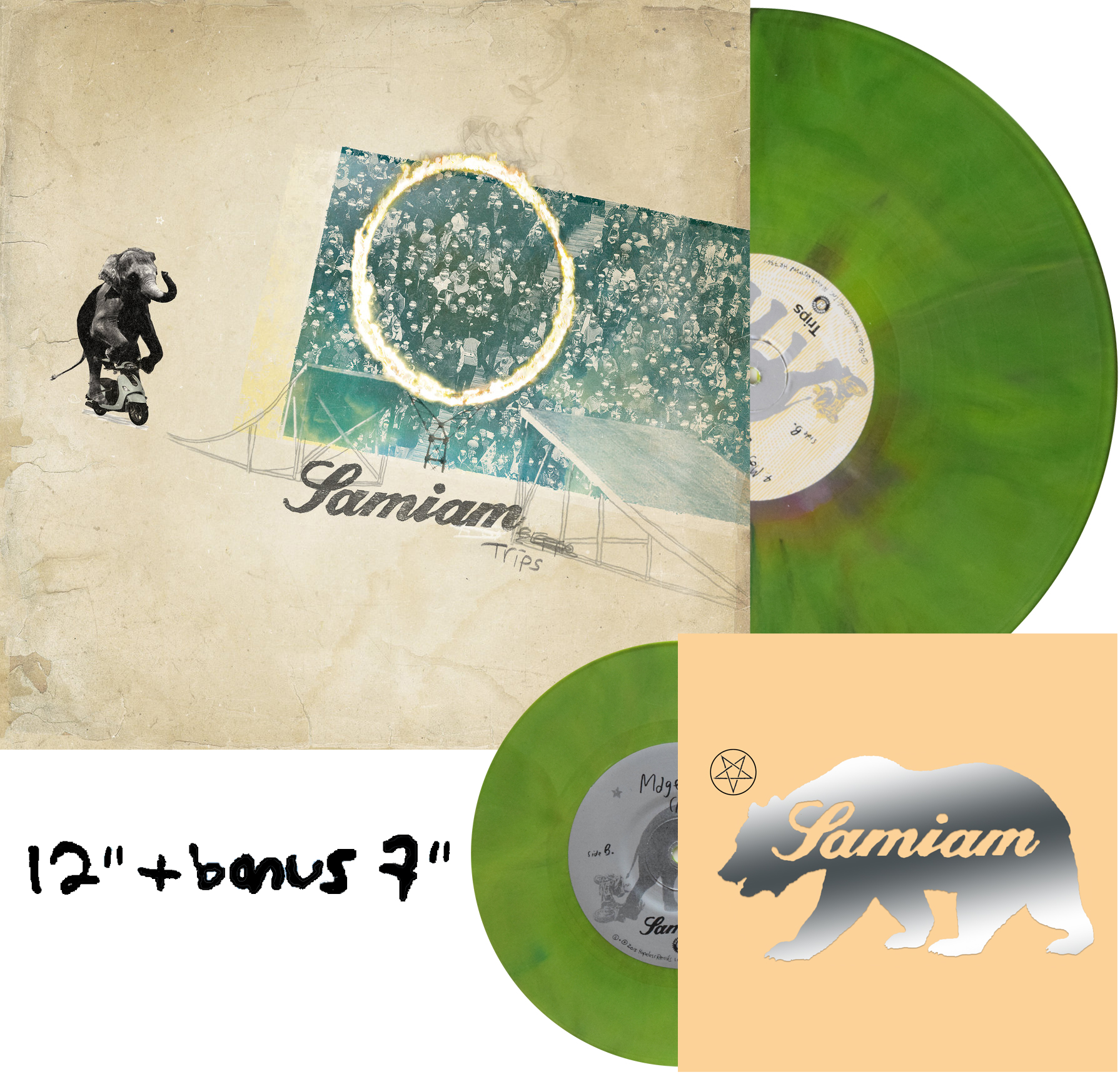 Samiam Trips Unless You Try Record Store Day European Pressing repress Exclusive Acoustic 7""