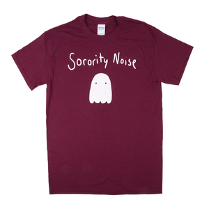 Sorority Noise - Burgundy T-Shirt