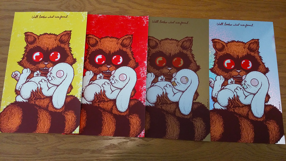*New* 'FOUND' Art Mini-Print (ALL VARIANTS)