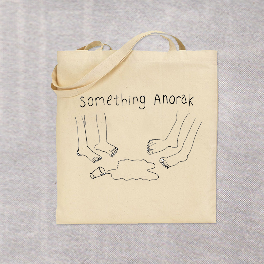 Something Anorak tote bag