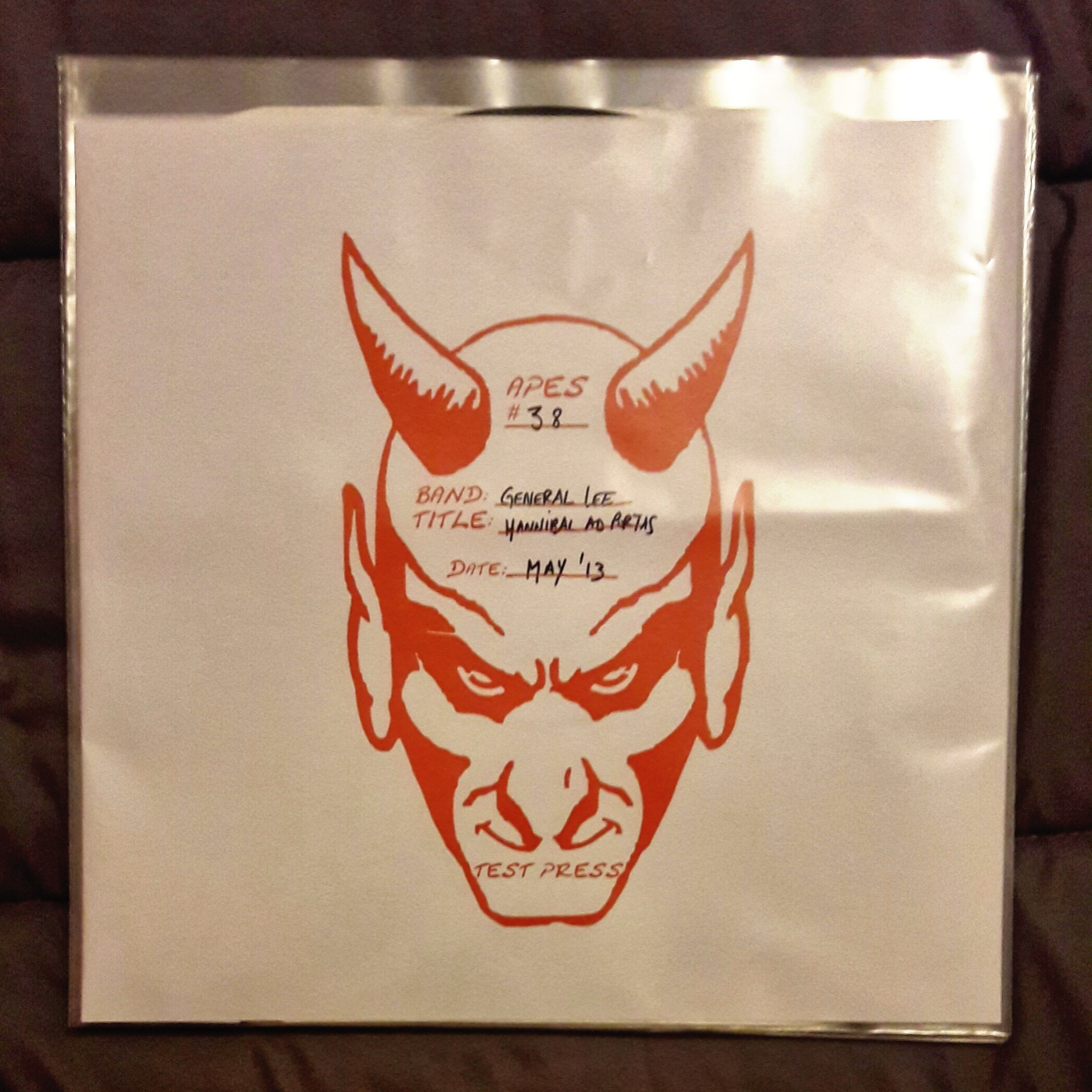 [TEST PRESS] GENERAL LEE Hannibal ad portas