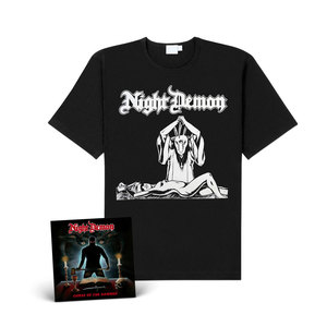 Night Demon - Curse Of The Damned (CD+shirt Bundle)