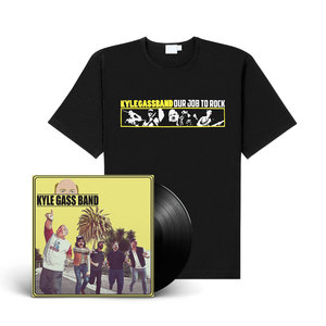 Kyle Gass Band - Self-titled (Vinyl+CD+shirt Bundle)