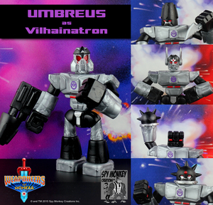 Weaponeers of Monkaa: Umbreus as Vilhainatron