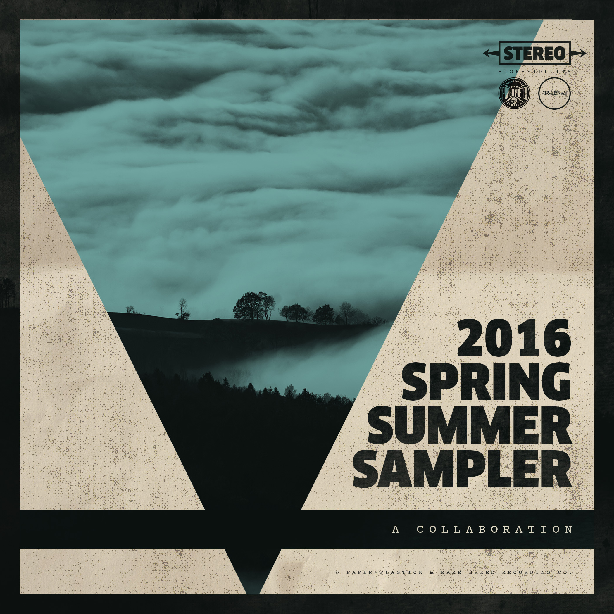 Paper + Plastick / Rare Breed Recording Co. Spring/Summer 2016 Sampler