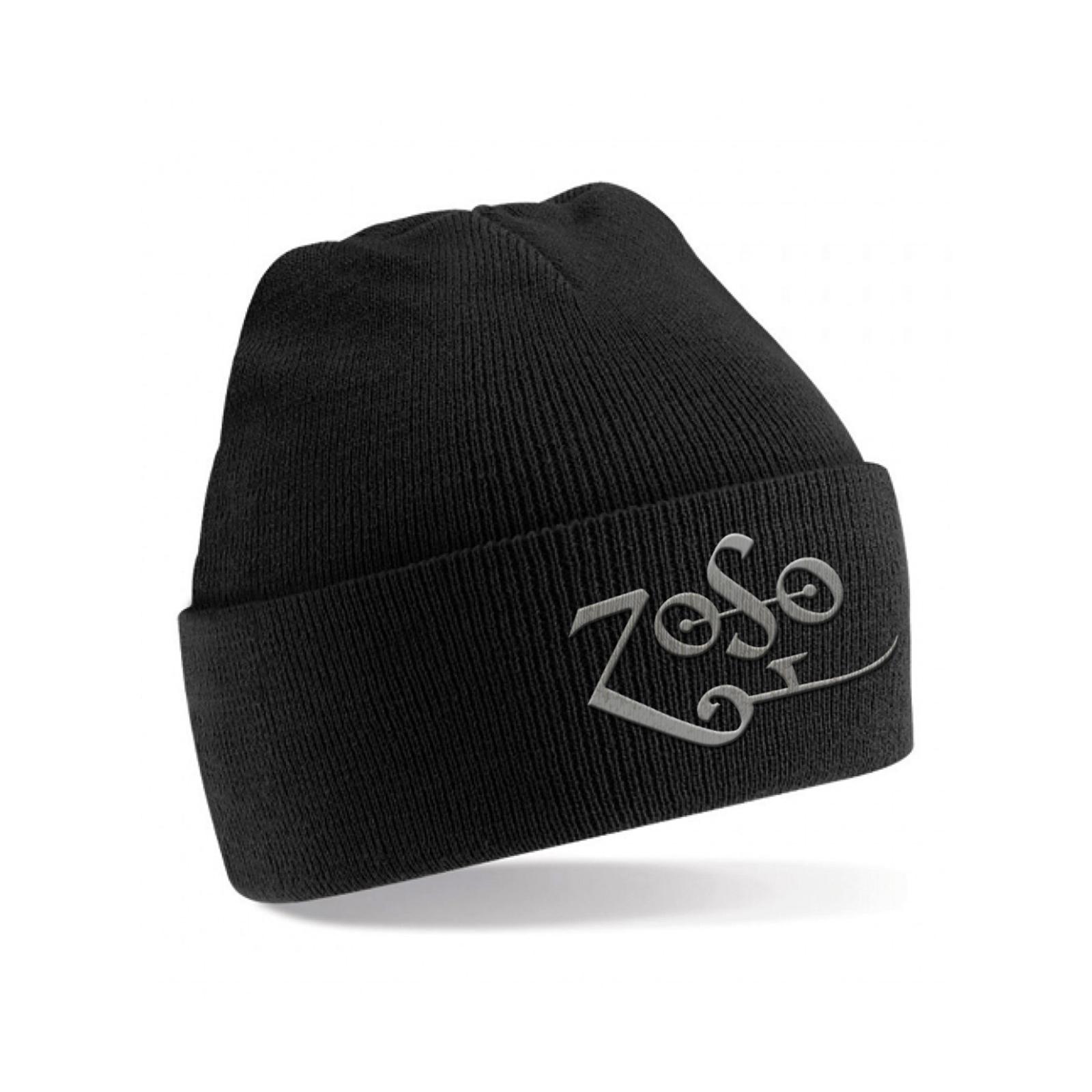 Black Zoso Beanie Hat