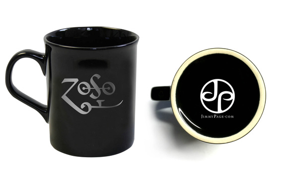 Black Zoso Mugs (Pair)
