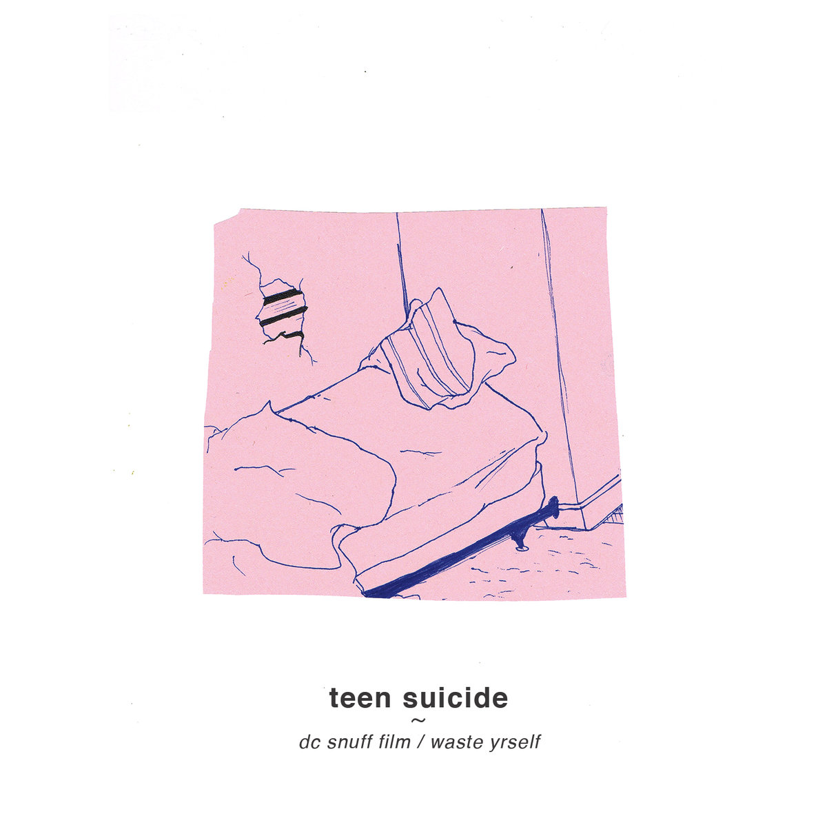 Teen Suicide - DC Snuff Film / Waste Yourself LP