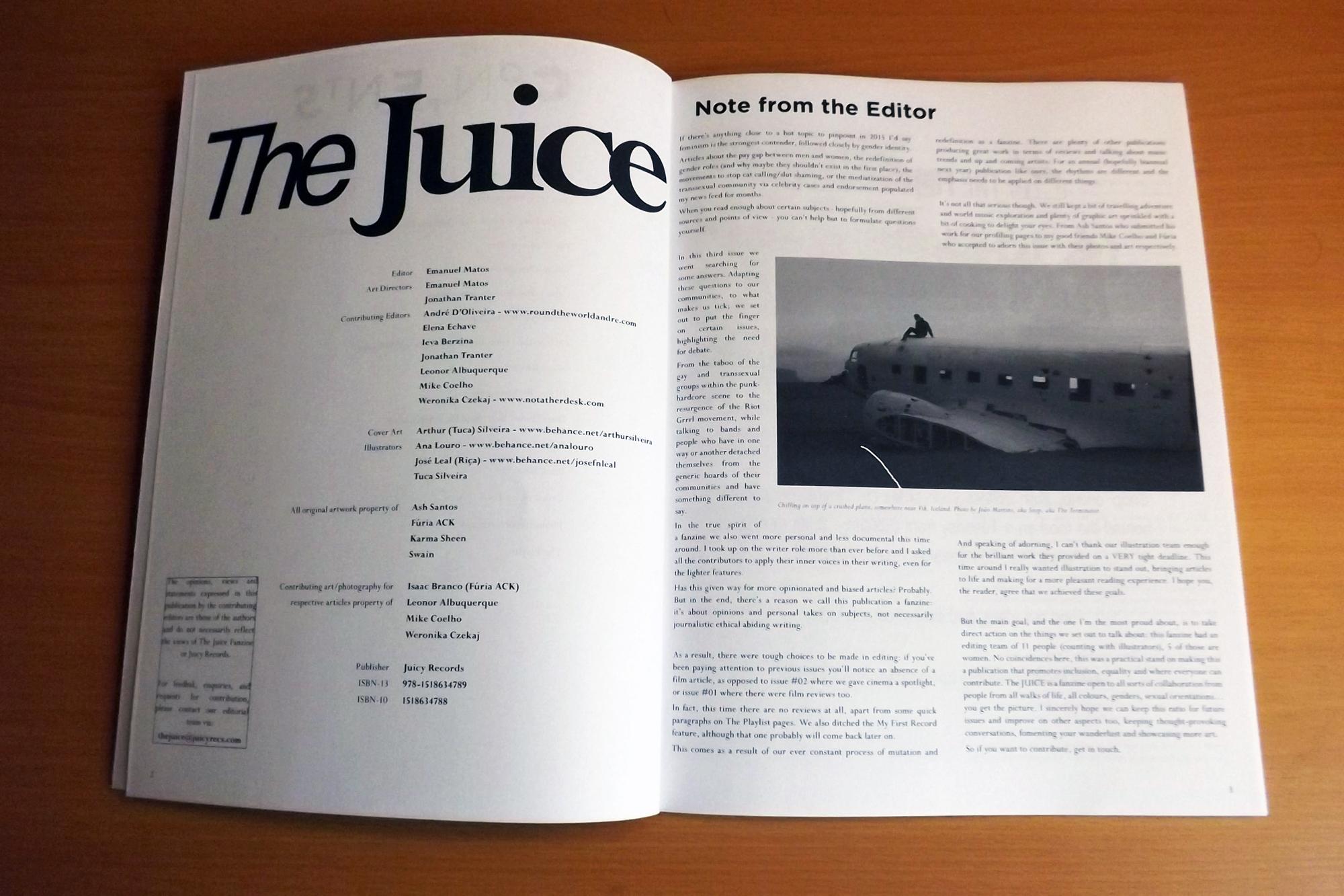 THE JUICE Fanzine #03