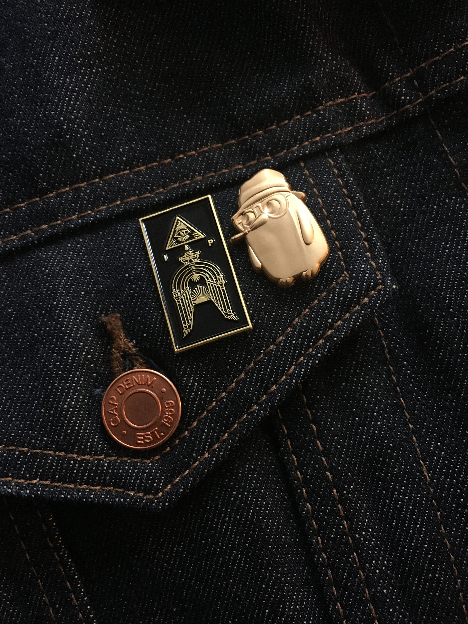 Iron Pier - Enamel Pin