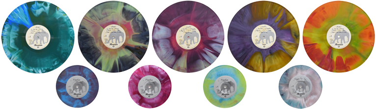 Samiam Tie Dye Trips repress acoustic 'coustic 7 inch