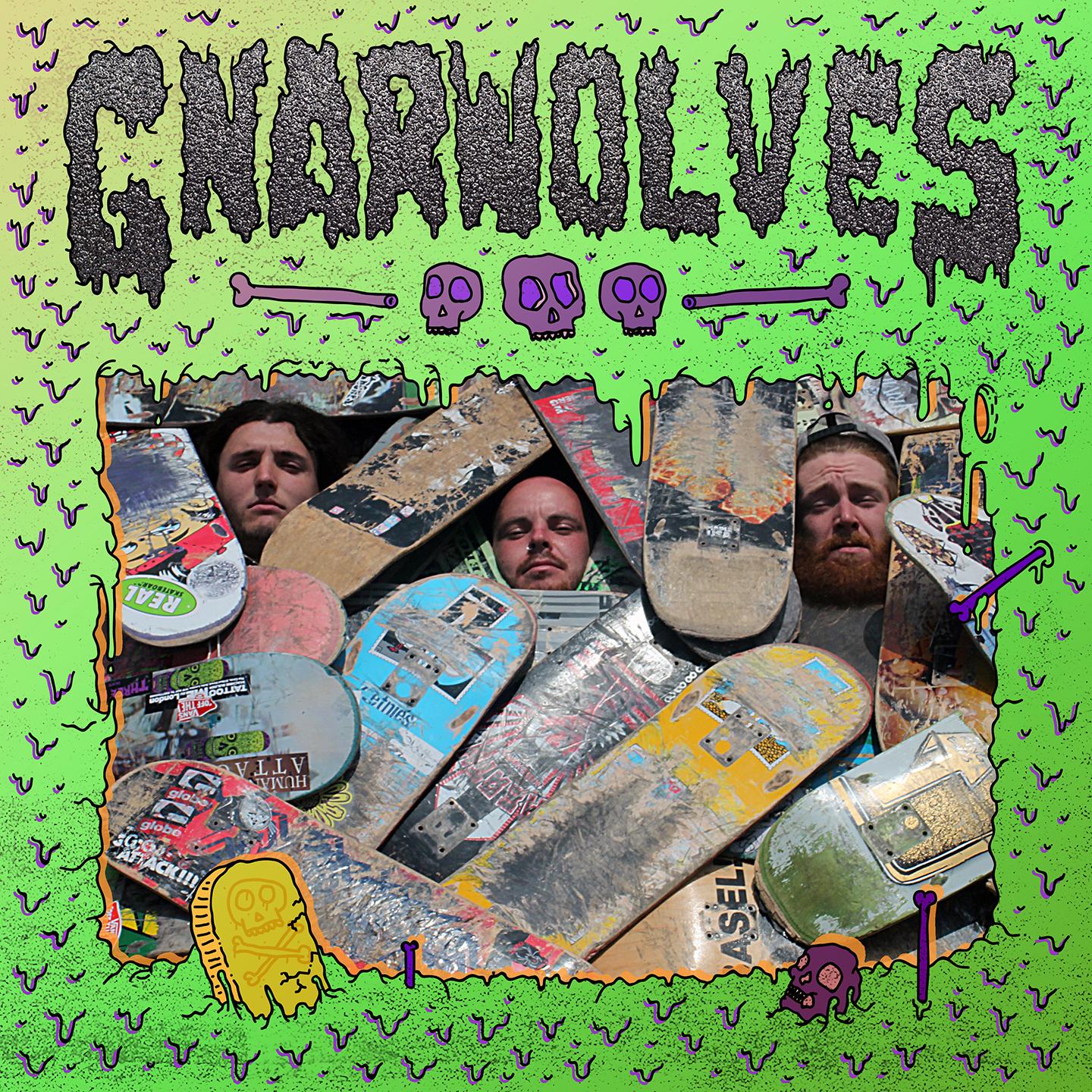 Gnarwolves - S/T LP (Big Scary Monsters/ Tangled Talk)
