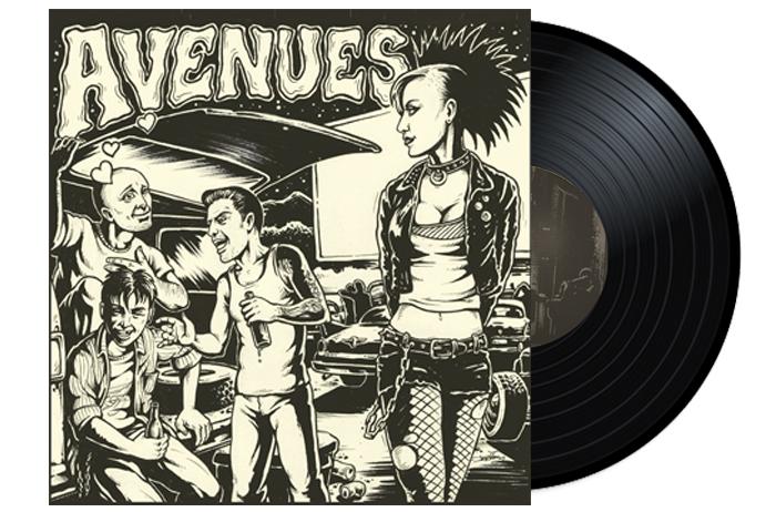 """WIRETAP RECORDS - Avenues - Creep Show 10"""" EP Vinyl"""