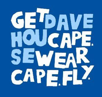 Get Cape Wear Cape Fly / Dave House - Split 10