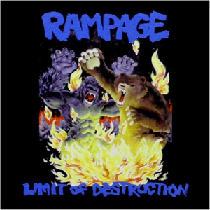 Rampage - Limit of Destruction CD