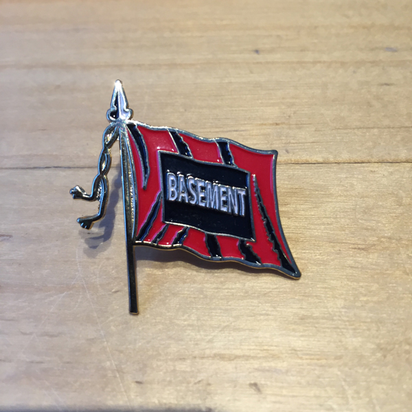 Basement - Flag Enamel Pin