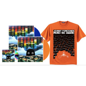 Johnny Foreigner - Mono No Aware Special Edition Release with Tee Shirt