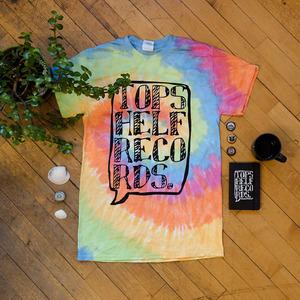 Topshelf Records Tye Dye Logo - T-Shirt